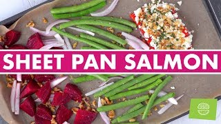 Salmon Sheet Pan Dinners, 5 Easy Healthy Recipes!