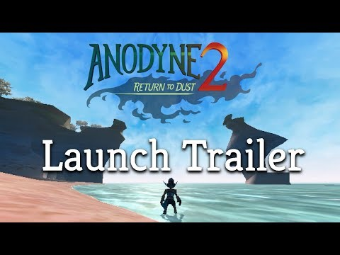 Anodyne 2: Return to Dust - Launch Trailer (Available now!) thumbnail