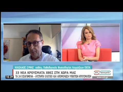 Κορονοϊός | Ο Καθηγητής Ν.Σύψας στην ΕΡΤ | 09/07/2020 | ΕΡΤ