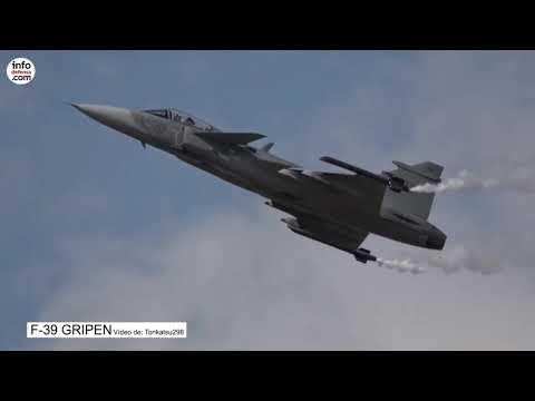 El primer vuelo del F-39 Gripen E será en septiembre