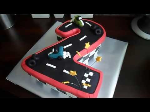 Car Cake Images Download : Download link Youtube: Racing Cars Cake For 2 Year Old ...