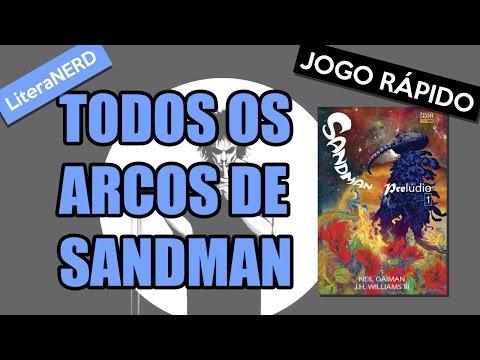 Todos os arcos de Sandman, do Neil Gaiman - A melhor HQ de todos os tempos #AllAboutGaiman