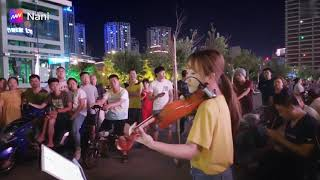 """""""Star Sky""""- Amazing Violin Live by a Chinese girl"""