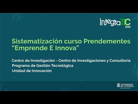 """Sistematización curso Prendementes """"Emprende E Innova"""""""