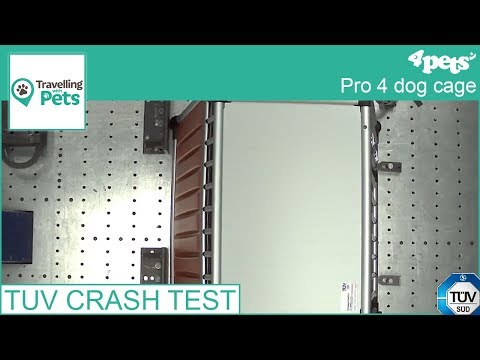 4Pets PRO 4 TÜV crash test