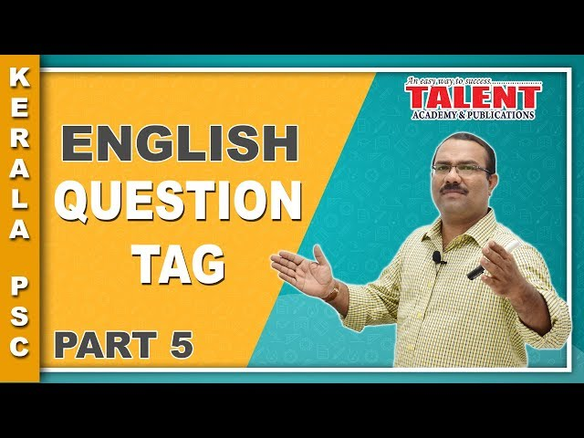 English Grammar Class - Question Tag | University Assistant Part - 5
