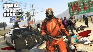 GTA 5 Mods - ZOMBIE APOCALYPSE MOD!! GTA 5 Zombies Mod Gameplay! (GTA 5 Mods Gameplay)