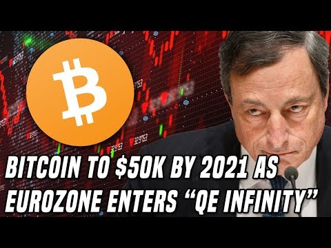 "Bitcoin to $50K in 2021 | European Central Bank Enters ""QE Infinity"", Cuts rates"