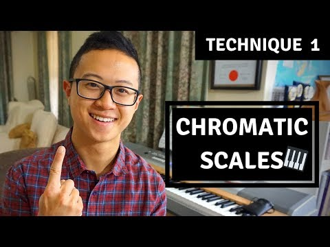 How to Play Chromatic Scales | Easy Piano Technique 1