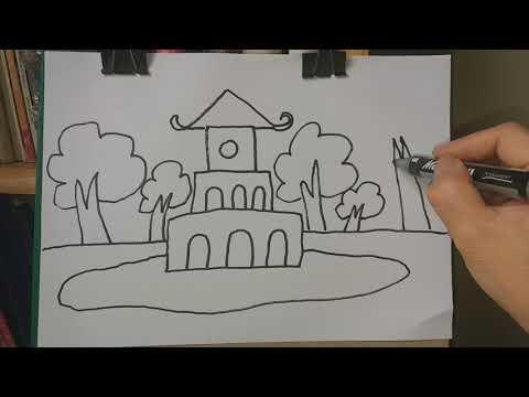 Vẽ tháp rùa