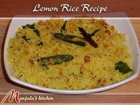 Lemon Rice Recipe by Manjula