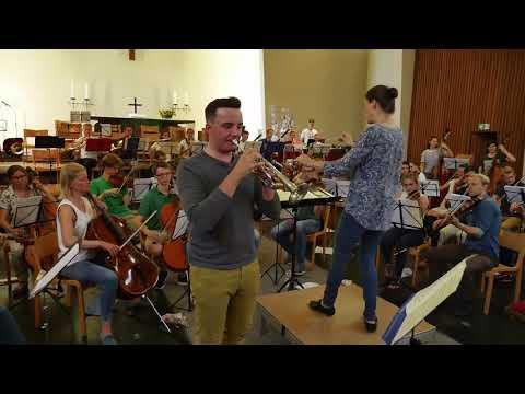 HHU - Uniorchester Juli 2018 Impressionen Generalprobe Konzertsaison '18