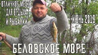 Рыбалка на беловском водохранилище 2019