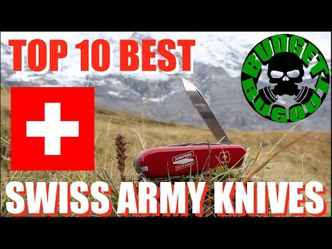 Top 10 Best Swiss Army Knives — Visit to Switzerland | Budget Bugout