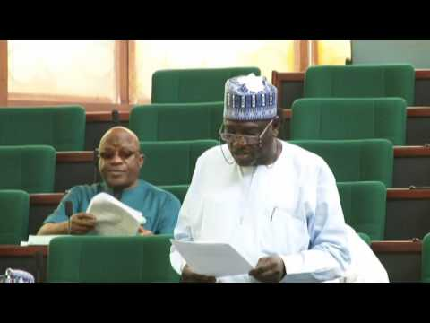Hon Zakariyai Galadima,22 March 2017  Bill to amend the taxes & levirs Act LFN 2004