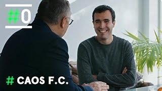 Michael Robinson entrevista al secretario de Spaniards FC