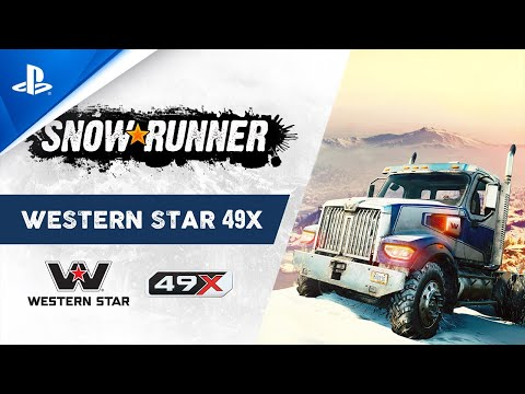 The All-New Western Star 49X de SnowRunner