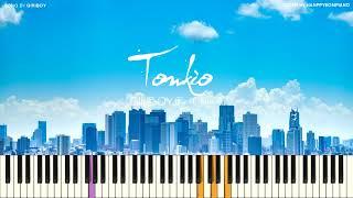 GIRIBOY(기리보이) - Towkio(도쿄) (Feat. youra(유라)) [PIANO COVER]