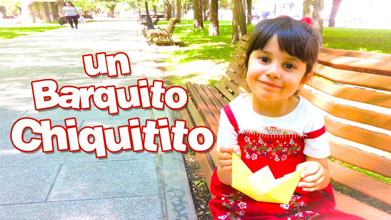 Canciones Infantiles - UN BARQUITO CHIQUITITO  (Children's songs in Spanish) Little Dubbi