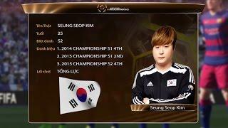 Hồ sơ tuyển thủ: Seung Seop Kim - Korea [ The Intercontinentals 2016 ]