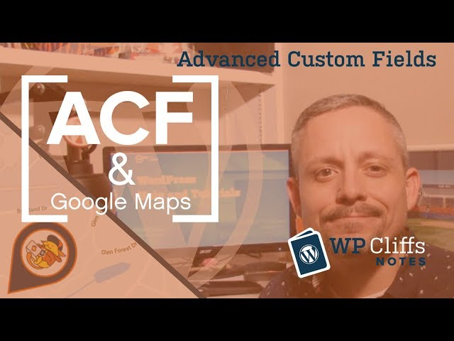 acf google map api key