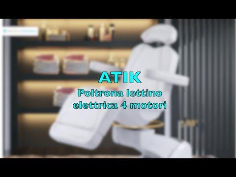ATIK Poltrona lettino 4 motori