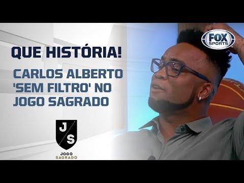 QUE HISTÓRIA! CARLOS ALBERTO 'SEM FILTRO' NO JOGO SAGRADO
