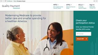 CMS QPP APM Advancing Care Information Submission