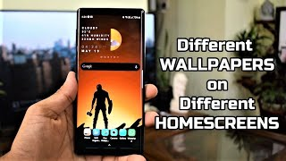 Different WALLPAPERS on different HOMESCREENS – Best wallpaper Personalization App