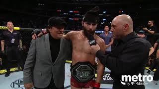 UFC 244: Jorge Masvidal & Nate Diaz Octagon Interview