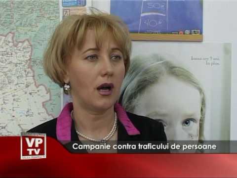 Campanie contra traficului de persoane