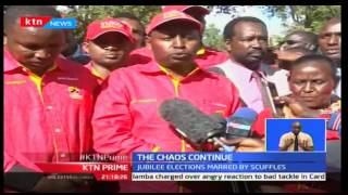 Prime: Chaos rocks the Jubilee party elections for interim officials