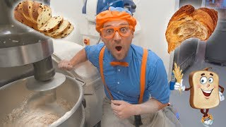 Blippi Visits the Bakery | Learn Healthy Eating for Children