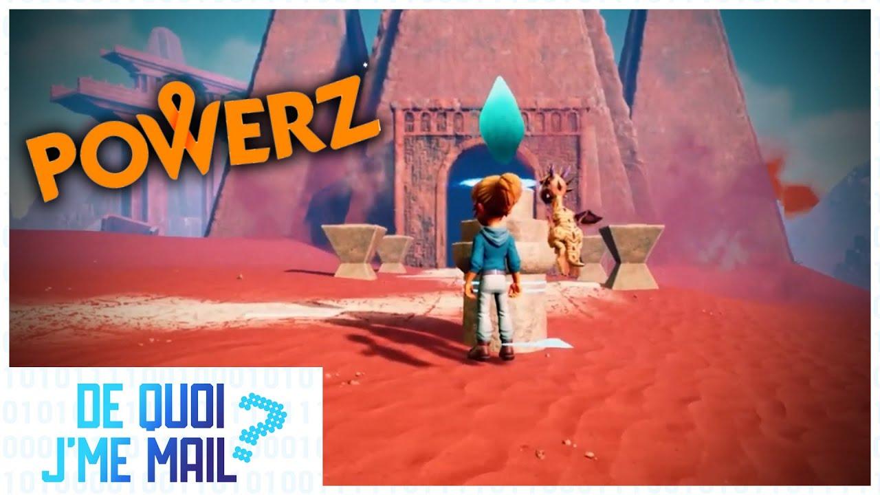 Powerz : le jeu vidéo qui rend intelligent DQJMM (2/2)