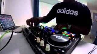 Bass music mix with Traktor S4 MK2 - DJ Nii
