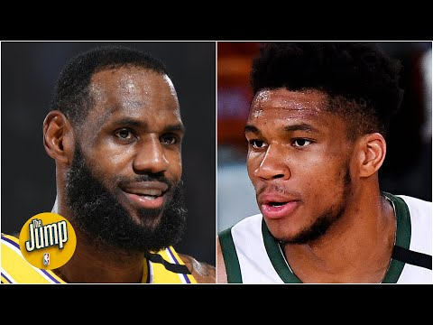 Is LeBron more deserving of the NBA MVP award than Giannis? | The Jump