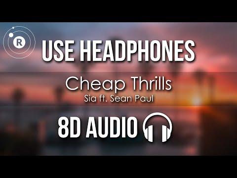 Sia - Cheap Thrills (8D AUDIO)