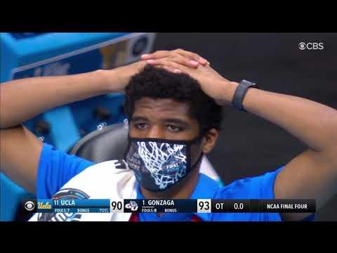 Gonzaga Beats UCLA on UNREAL Buzzer Beater | 2021 NCAA Final Four
