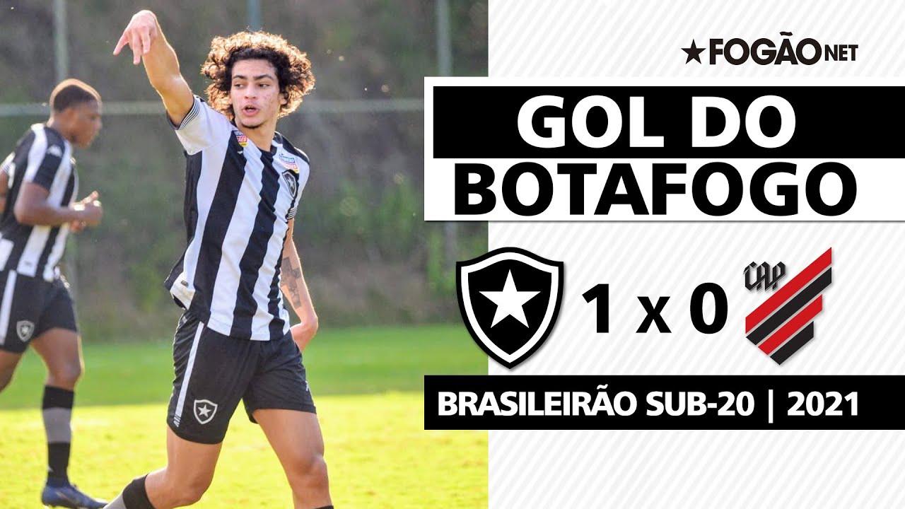 VÍDEO: com passe mágico de Juninho, Matheus Nascimento faz gol da vitória do Botafogo sub-20