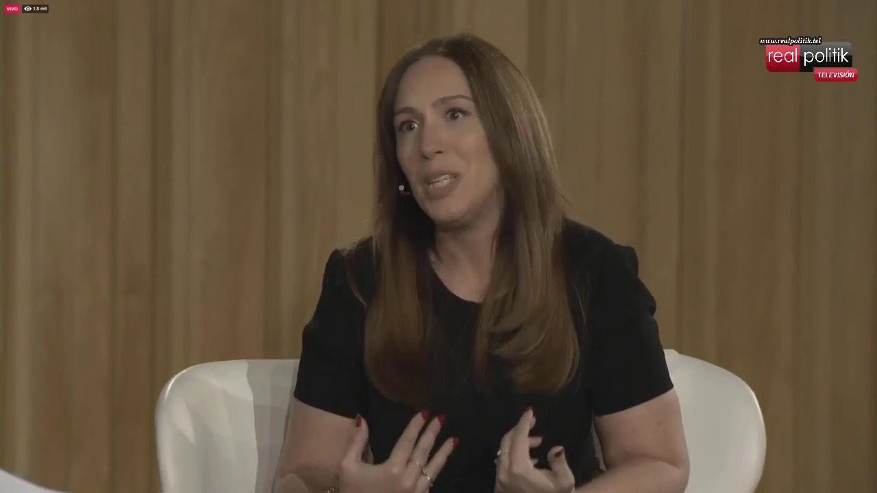 "María Eugenia Vidal presentó ""Mi camino"""