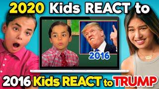 Kids & Teens React To Kids React To Donald Trump (4 YEARS LATER)