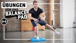 Balance Pad Übungen für Knie, Fuß und Rumpf | Koordination & Beweglichkeit | Sport-Thieme