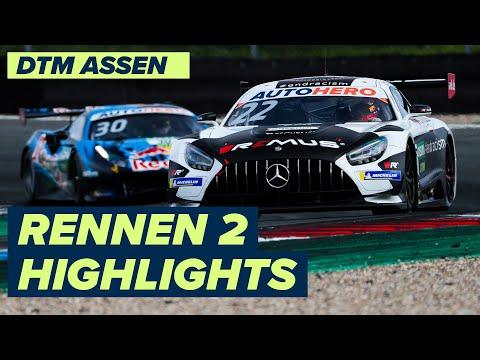 DTM TTサーキット・アッセン(オランダ) RENNEN2のハイライト動画