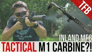 Tactical M1 Carbine? The Inland M30-P Pistol and Brace