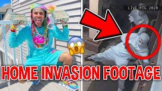GOONS Break Into 6IX9INE Mansion, Here's What Happened...