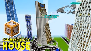 TINIEST HOUSE IN MINECRAFT Xx Command Block House Most - Minecraft hauser comand