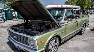 Patina Muscle Trucks Of HOT ROD Power Tour 2016