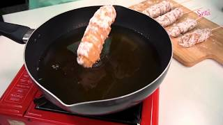 SistaCafe Channel : วิธีทำไก่ม้วนชีส
