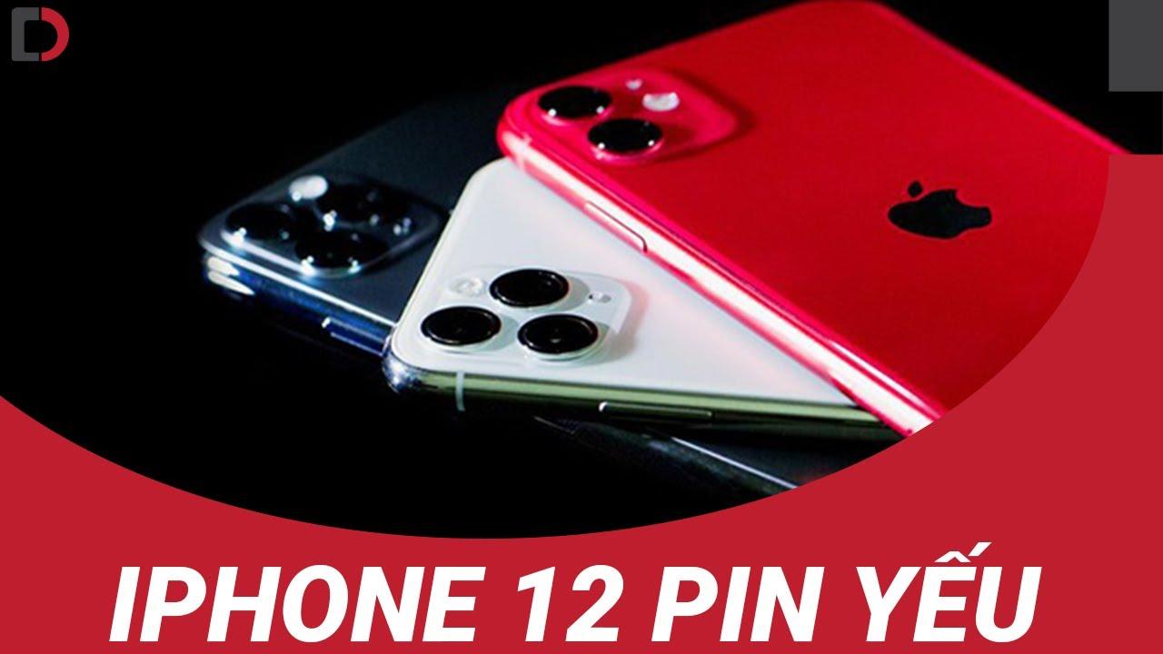 iPhone 12 làm người dùng quá thất vọng với thời lượng pin