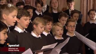 Staats- Und Domchor Berlin | ZDF Spezial - Abschied Von Roman Herzog Im Berliner Dom (24.01.2017)